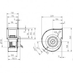EC Ventilaator RG14S